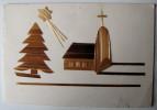 FETES VOEUX - Joyeux Noël - Polska - Montage Collé (carte Double)
