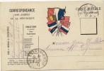 CARTE CORRESPONDANCE MILITAIRE EN FRANCHISE 1914/18 *DU 83ème RGT INFANTERIE POUR ARREAU(HTES PYRENEES) - Guerre 1914-18