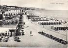 Marche-fano La Spiaggia Veduta Panoramica Particolre Anni 40/50 - Fano