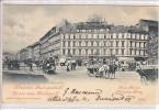 BUDAPEST - SALUTATIONS - ANIMEE - DOS UNIQUE - 22.05.1899 - TTB - Hongrie