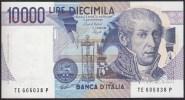 Italy 10000 Lire 1984 P112b UNC - [ 2] 1946-… : République