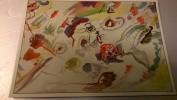 Wassily KANDINSKY Première Aquarelle Abstraite - Peintures & Tableaux