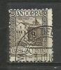 ANDORRA- CORREO ESPAÑOL SELLOS USADO **C. M. ABAD Nº 21 (S.1B. C.11.15) - Andorra Española