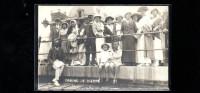 CARTE PHOTO FAMILLE CASINO DE DIEPPE NORMANDIE CIRCA 1910 - Lieux