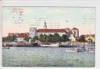 RIGA - CHATEAU ET BATEAU A VAPEUR- 16.12.1908 - - Lettonie
