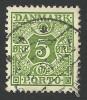 Denmark, 5 O. 1934, Sc # J27, Mi # 27, Used. - Port Dû (Taxe)