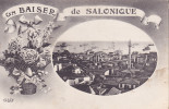 CPA - SALONIQUE - Un Baiser De Salonique - Grèce