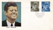 Malta 1966 FDC USA President John F. Kennedy Memorial - Kennedy (John F.)
