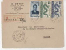 Devant De Lettre- Envelope  Vietnam  Indochine - Viêt-Nam
