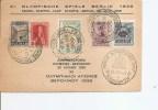 JO De Berlin -1936 ( Carte Commémorative De Grèce à Voir) - Estate 1936: Berlino