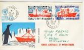 TAAF 1977 Lettera Da Base Alfred Faure A Neuchateau (Francia) Con Valori N. 66 E 67) - Storia Postale