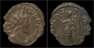 Tetricus I Billon Antoninianus Victory Standing Left - 5. L'Anarchie Militaire (235 à 284)