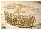 75 - PARIS - CRYPTE ARCHEOLOGIQUE DU PARVIS DE NOTRE-DAME - Maquette Représentant Paris En 1380 - France