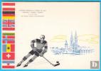 ICE HOCKEY WORLD CHAMPIONSHIP 1966. - Vintage Postcard , Not Travelled * Hockey Sur Glace Eishockey Hockey Su Ghiaccio - Winter Sports