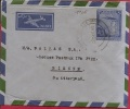 LD-1126    LUCHTPOSTBRIEF     +  BIJFRANKERING OP DE RUGZIJDE  1961               NAAR       BIENNE   SUISSE - Pakistan