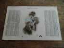 CPA Calendrier De 1908, 12 Mois, Numéroté 312 - Nouvel An