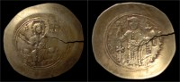 Nicephorus III Botaniates Electrum Histamenon Nomisma (scyphate) - Byzantine