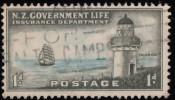 NEW ZEALAND - Scott #OY30 Life Insurance (*) / Used Stamp - New Zealand