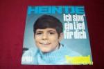 HEINTJE   °  ICH SING EIN LIED FUR DICH - Vinyl Records