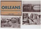 """A SAISIR !!!! ORLEANS. Pochette De 8 Photos Glacées """"Juin 1940"""" - Orleans"""