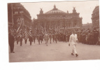 25244 Militaria Guerre 1914 14-18 Vixctoire - American Legion -LH Paris -opera Drapeau Americain - Guerre 1914-18
