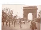 25245 Militaria Guerre 1914 14-18 Vixctoire - American Legion -LH Paris -arc Triomphe - Tambour Musique - Guerre 1914-18