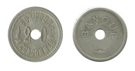 N1963 - Jeton Roulette De Comptoir: Banque:  20 C - Casino