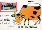 87 CPSM Je Ne Suis Pas Vache Je T'écris De Glandon - Souvenir - France
