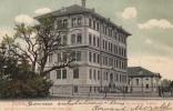 Deux Cartes Précurseurs :  Payerne Et Souvenir De Payerne, Eglise Allemande. Oblit. De 1904 Et 1905 - VD Vaud
