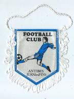 Fanion Football L'équipe D'Antibes Juan Les Pins - Habillement, Souvenirs & Autres