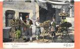 CONSTANTINOPLE  (cpa Colorisée De 1906)  Le Marchand De Simites - - Turquie