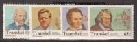 TRANSKEI    1992            N°    283 /  286         COTE         6 € 50         ( V 715 ) - Transkei