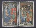 Andorra Sp. 1978 Christmas 2v ** Mnh (26146E) - Andorre Espagnol