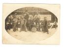 """PHOTO  Groupe De Musicien Militaire Les """" IZI JAZZ AUTO """" à COBLENCE ALLEMAGNE Le 16.12.1928 - Guerra, Militares"""