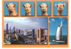 U. A. E. - United Arab Emirates - Dubai - Sheikh Zayed Road - Burj Al Arab - Camel -  Nice Stamps - Ver. Arab. Emirate