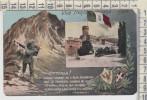 Militare Viva Trento Italiana 1915  Posta Militare Bersaglieri - Patriotic