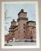 No CP  - Image Photo De Ferrare ( Ferrara ) Château D'Este - 7,5 X 9,5 Cm - Ferrara