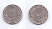Hungary 10 Filler 1939 - Hungary