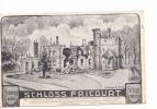 25256 Militaria Guerre 1914 14-18 Schloss Fricourt -chateau Nov 1914 Dessin Allemand - -lelong Albert - - Guerre 1914-18