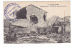 25258 Militaria Guerre 1914 14-18- HARAUCOURT (54)  Ferme Chateau Bombardee -cachet Auxiliaires Artillerie 74e Division