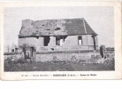 25259 Militaria Guerre 1914 14-18- Hanescamps France -ruines Eglises -N119 Huret Paris - - Guerre 1914-18
