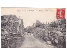 25264 Militaria Guerre 1914 14-18-Aisne Devastée BRAISNE, Rue Bailleux -Nougarede Lestrat