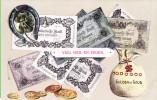 Kaart Met Afb. Van Nederlandse Bankbiljetten (ca. 1910) - Munten (afbeeldingen)