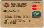 Credit Card A-412 Austria - BAWAG - Used - Krediet Kaarten (vervaldatum Min. 10 Jaar)