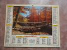 APC) Calendrier Des PTT 1981 Seine Et Marne - Calendriers