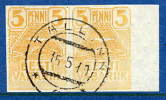 ESTONIA 1919 5p Seagulls Pair Used - Estonia