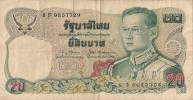 Billets - Thaïlande - 20 Bath - - Thaïlande