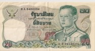 Billets - Thaïlande - 20 Bath - - Thailand
