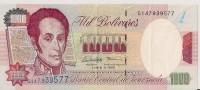 Billets - Venezuela  - 1000 Bolivares - - Venezuela