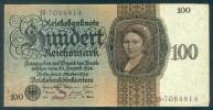 Deutschland, Germany - 100 Mark, Reichsbanknote, Ro. 171 A ,  ( Serie S/B  ) 1924 ! - [ 4] 1933-1945: Derde Rijk